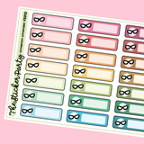 Optometrist Appointment Planner Stickers