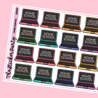 Home School Planner Stickers