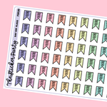 Day Off Planner Stickers | Day Off Flags