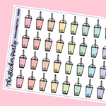 Boba/Bubble Tea Planner Stickers
