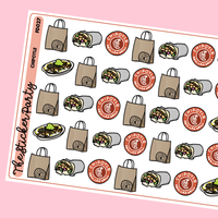 Chipotle Planner Stickers