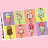 Popsicle Kit for Erin Condren Vertical Life Planner