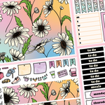 Pastel Daisy Kit in Standard Vertical Sizing