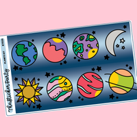 Out of This World Planets Kit in Standard Vertical Sizing