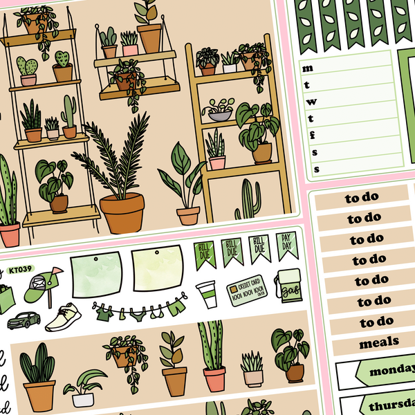 House Plant Kit in Standard Vertical Sizing