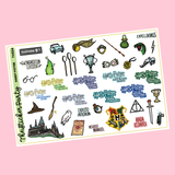 HP Wizard Planner Stickers