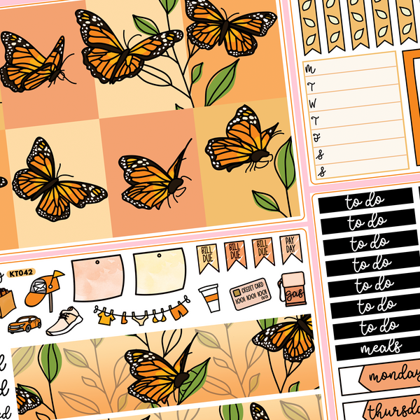 Monarch Butterfly Kit in Standard Vertical Sizing