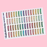 Mini Checklist Stickers