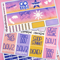 B6 TN BIG BUNDLE | Lights Planner Action Collab | Go Wild 2020 Planaheim