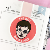 The Boy Who Lived Magnetic Bookmark