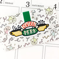 Central Perk Magnetic Bookmark