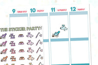 Cat Owner Cat Planner Stickers