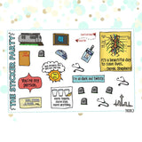 Grey's Anatomy Planner Stickers | 3 Piece Deco & Flag Kit
