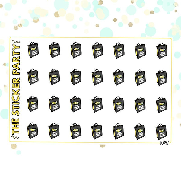 Lush Planner Stickers