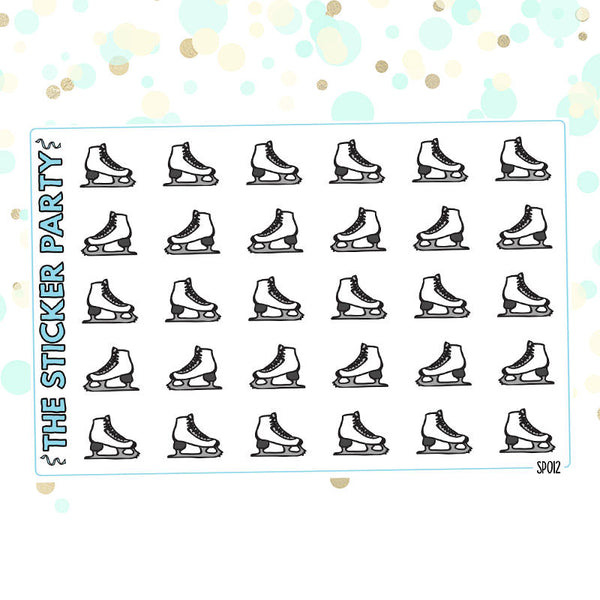 Skating Planner Stickers