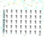 Face Brush Clarisonic Planner Stickers