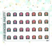 Hospital Planner Stickers Doctor Planner Stickers