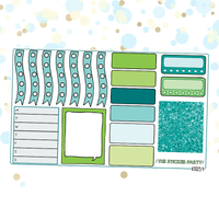 Vegan Planner Sticker Kit for Vertical Erin Condren Life Planner