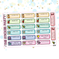 Pregnancy Planner Stickers Pregnancy Appointment Trackers