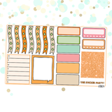 Pumpkin Spice Kit for Erin Condren Vertical Life Planner