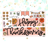 Thanksgiving Kit for Erin Condren Vertical Life Planner