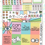 Queer Eye Kit for Erin Condren Vertical Life Planner
