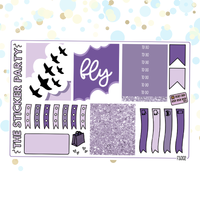 Fly One-Page Kit Planner Stickers