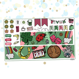 Just My Luck / St. Patrick's Day Kit for Erin Condren Vertical Life Planner