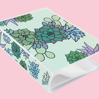 4x6 Succulents Sticker Album