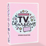 4x6 I ❤️ TV Sticker Album