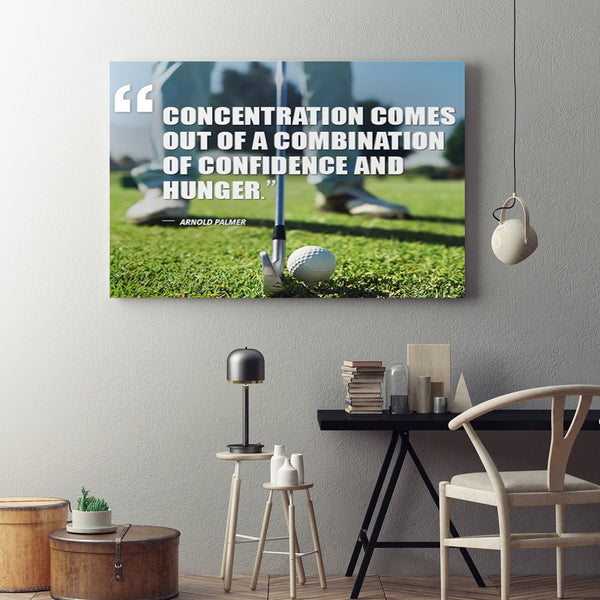 Confidence & Hunger Canvas
