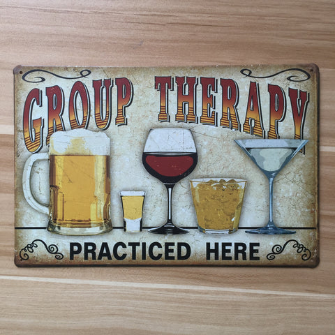 Group Therapy Iron Decoration