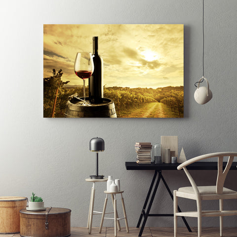 The Vineyards Canvas