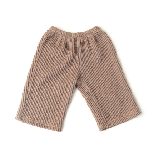 Back Pocket Knitted Trouser