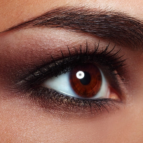 How to Get Smokey Eyes 7 Easy Steps Sweet Sparkle Close Up Image of Smokey Eye