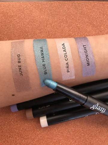 glam21 One Shot!  Cocktails Eye Crayon Swatch