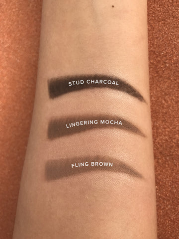 One Shot!!! Skinny Eye Brow Pencil Swatch