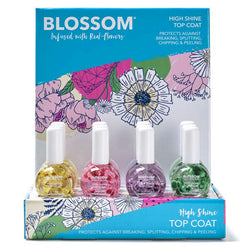Blossom High Shine Top Coat 12 Piece Display