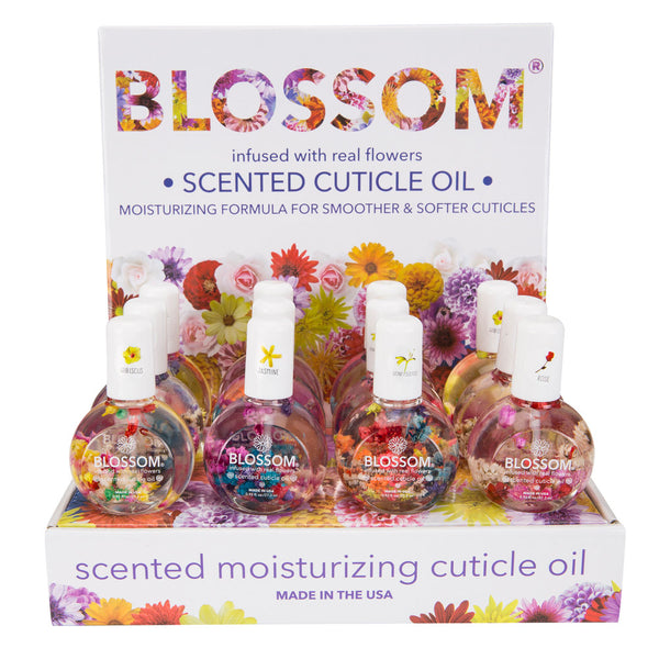 Blossom Scented Cuticle Oil 12 Piece Display - Fruit