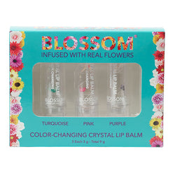 3 Piece Gift Set - Color-Changing Crystal Lip Balm