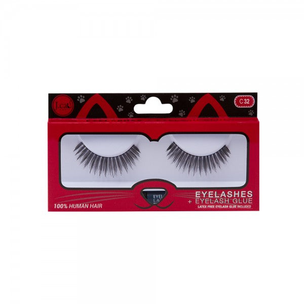 Eyelashes + Eyelash Glue - ELC32