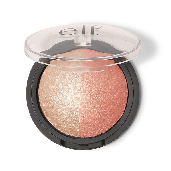 Baked Highlighter & Blush - Rose Gold