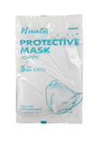 KN95 Face Mask, FDA and CE Certified, 5-layer, medium/large