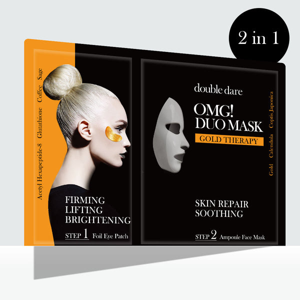 OMG! Duo Mask - Gold Therapy
