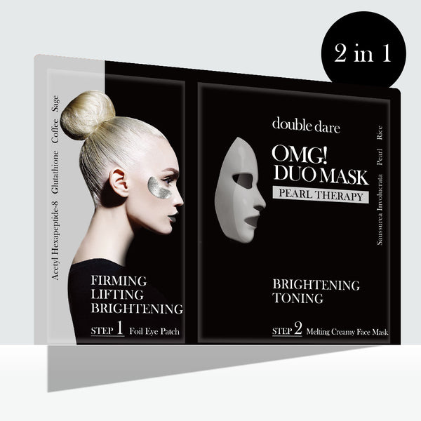 OMG! Duo Mask - Pearl Therapy