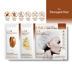 OMG! 3 in 1 Self Hair Clinic for Damaged Hair