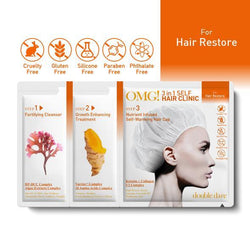 OMG! 3 in 1 Self Hair Clinic for Hair Restore