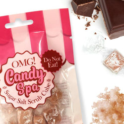 OMG! Candy Spa Sugar Salt Scrub Cube