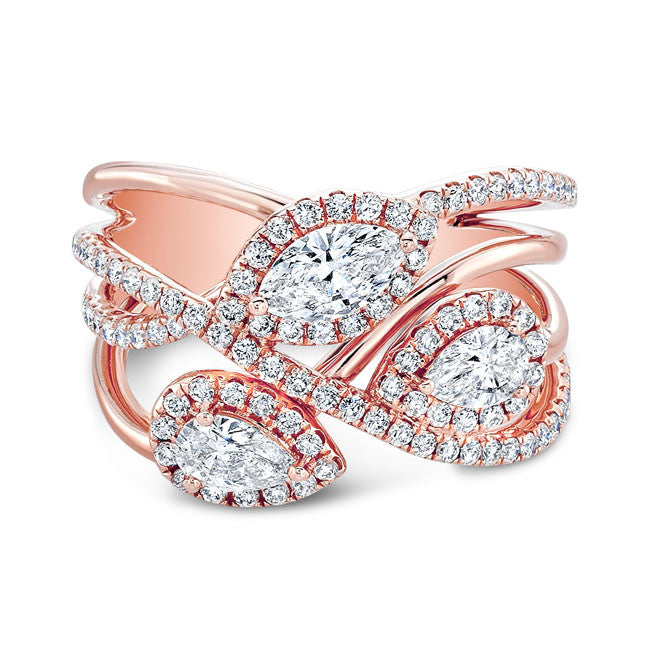 18k Rose Gold Forevermark™ Diamond Band