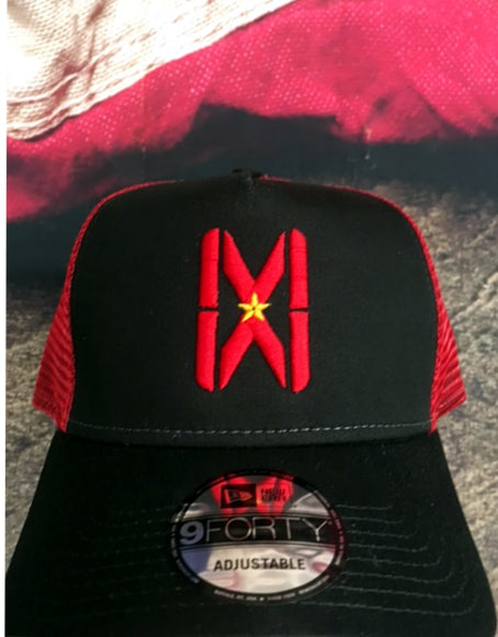 MW Snapback Red/Black